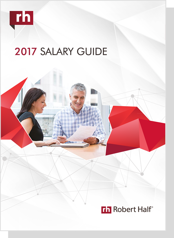 robert half salary guide 2017 pdf